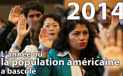 USA2016 : en 2014, le nombre d'enfants de moins de cinq ans issus des minorités est passé à 50%
