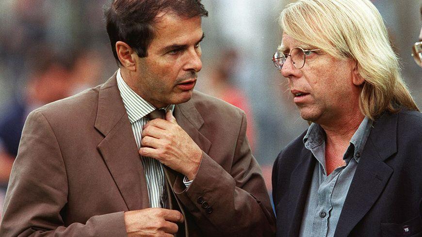 Patrick Proisy et Claude Le Roy à Strasbourg en septembre 2000