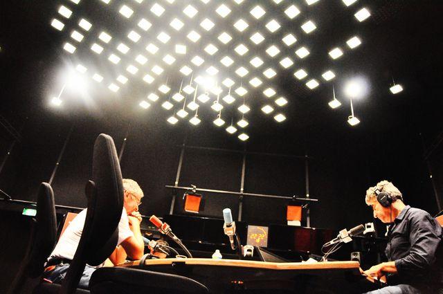 Les étoiles du studio de Foule sentimentale