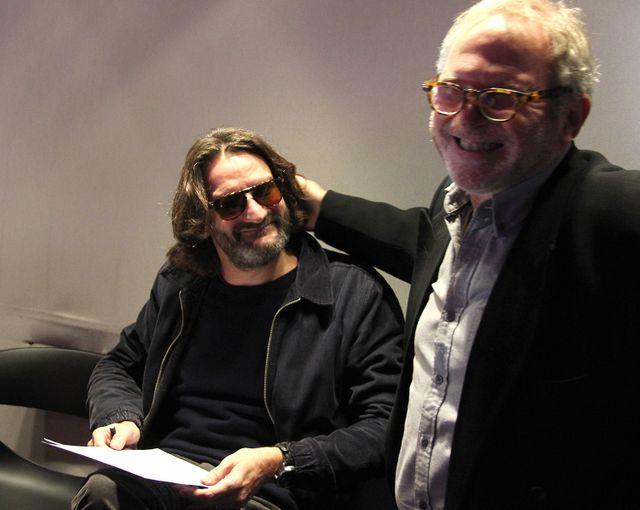 Frédéric Beigbeder et Bernard Guetta