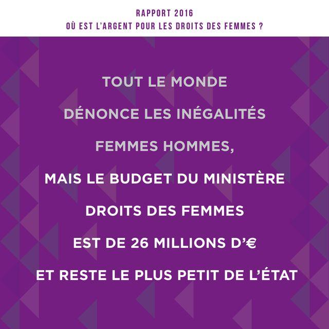 A grande priorité sociétale pour le gouvernement, tout petit budget.