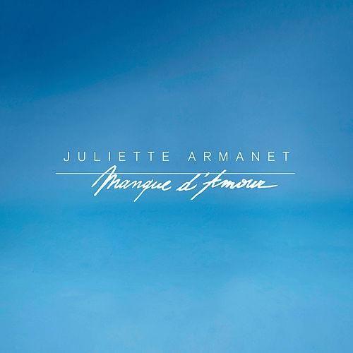 """Juliette Armanet """"Manque d'amour"""" couverture de son album - 2016"""
