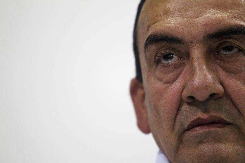 Mauricio Jaramillo, alias El Médico, commandant des Farc, à La Havane le 4 septembre 2012.