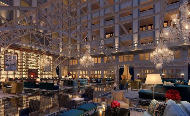 Hotel Trump : le hall tout en démesure