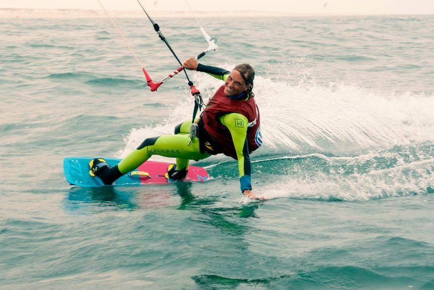 Doris Wetzel une athlète exceptionnelle, elle s'apprête à traverser l'Atlantique en kitesurf. Départ de New-York en 2017