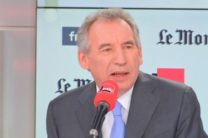 François Bayrou, invité de Nicolas Demorand dans Questions politiques