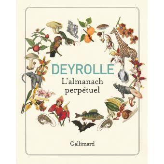Deyrolle - L'almanach perpétuel