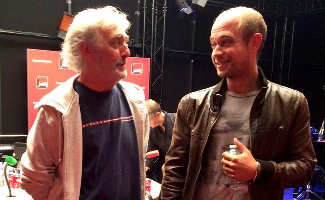 Jean-Paul Dubois et Aurélien Gougaud