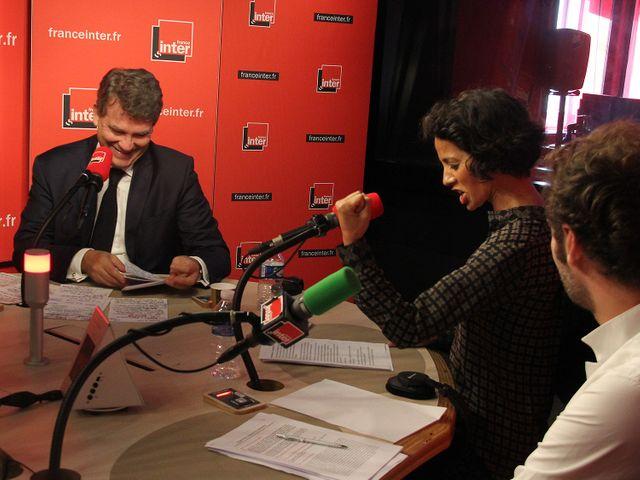 Arnaud Montebourg et Sophia Aram