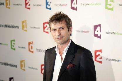 Frédéric Taddeï lors de la rentrée de France Television 2014