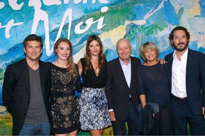 """L'équipe du film """"Cézanne et moi"""""""