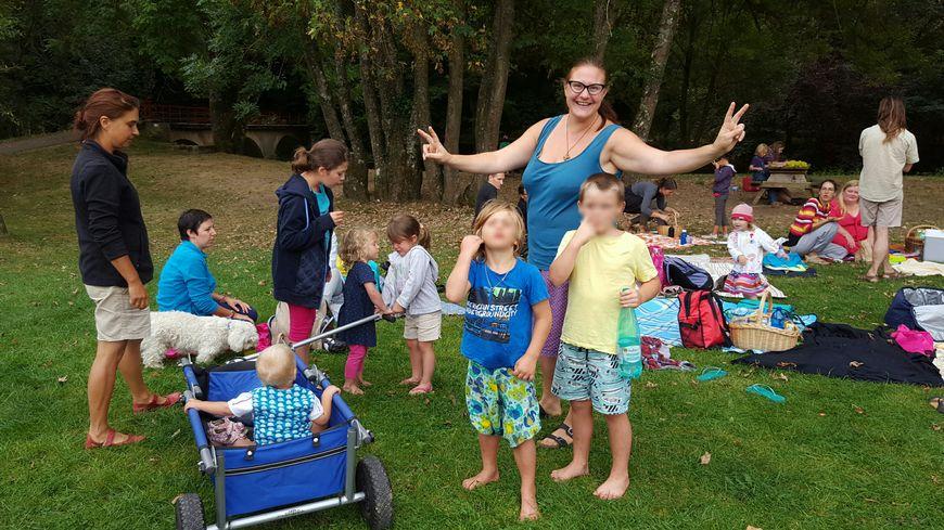 Les familles Lorraines  qui ont adopté l'instruction à la maison se sont retrouvées jeudi dernier à Arnaville