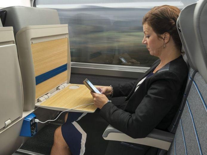La tablette en deuxième classe.
