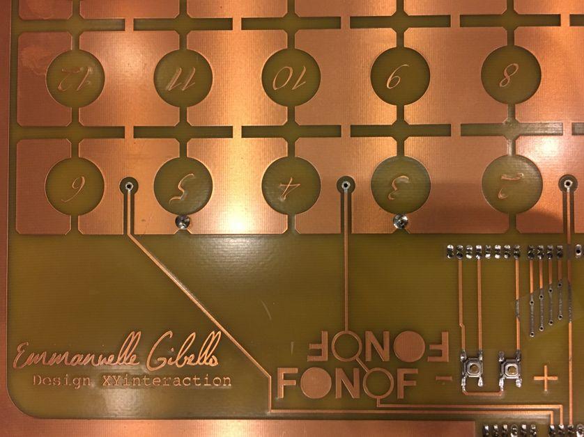 FONOF, machine créé par la compositrice Emmanuelle Gibello