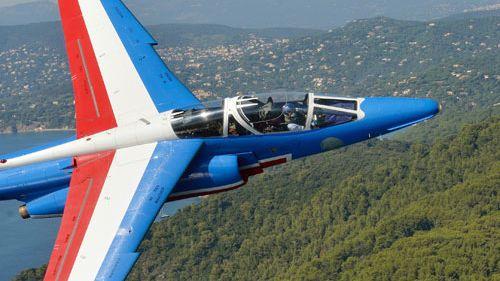 A ne pas rater aussi au meeting aérien de Roanne, la patrouille de France