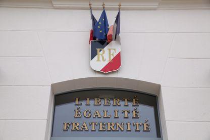 Fronton de mairie