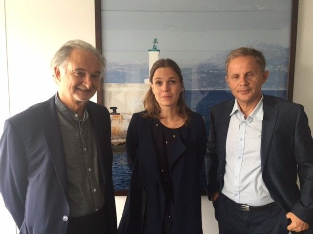 Jacques Attali, Florence Morice, Jean Garrigues