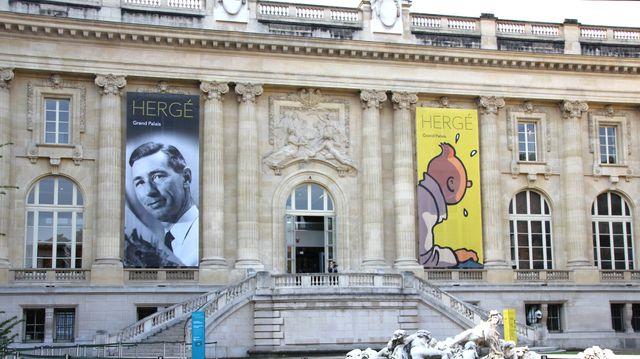 L'exposition Hergé au Grand Palais
