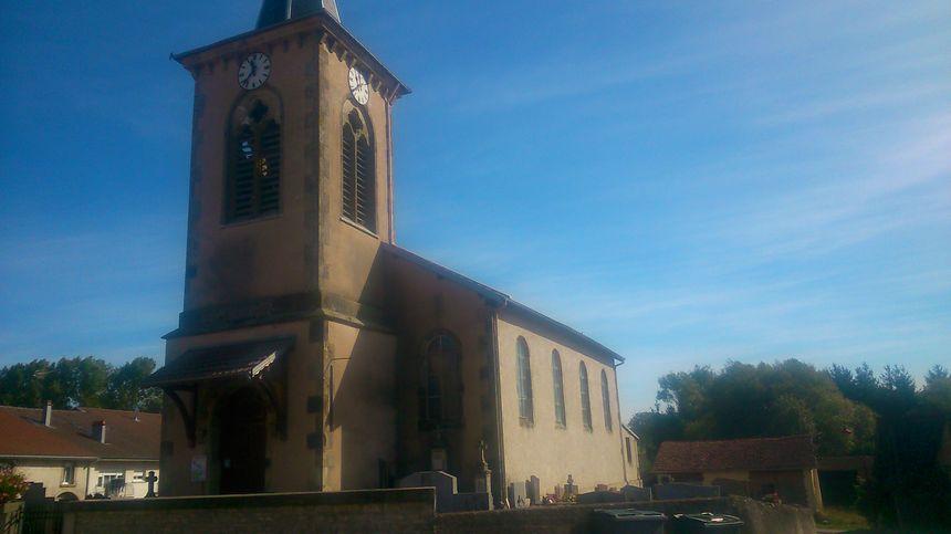 L'église de Bayecourt a été envahie par les insectes il y a une semaine.