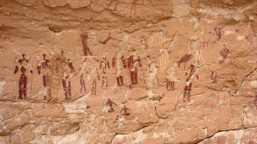 La grotte des nageurs, désert de Gilf al-Kabir c Sipa.jpg