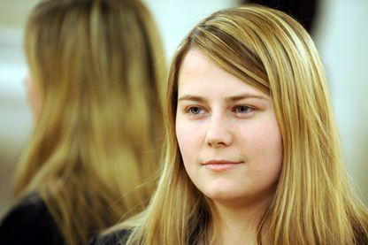 Natascha Kampusch, le 14 Décembre 2009.