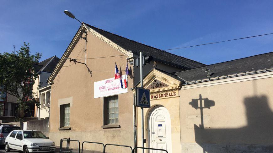 L'école maternelle Pauline Kergomard à Laval