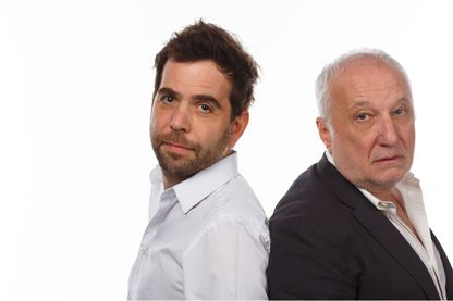 Sébastien Castro et François Berléand crédit Mathieu Génon