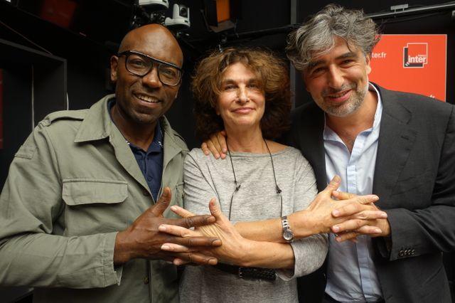 Lucien Jean-Baptiste, Fabienne Servan-Schreiber et Alexandre Amiel
