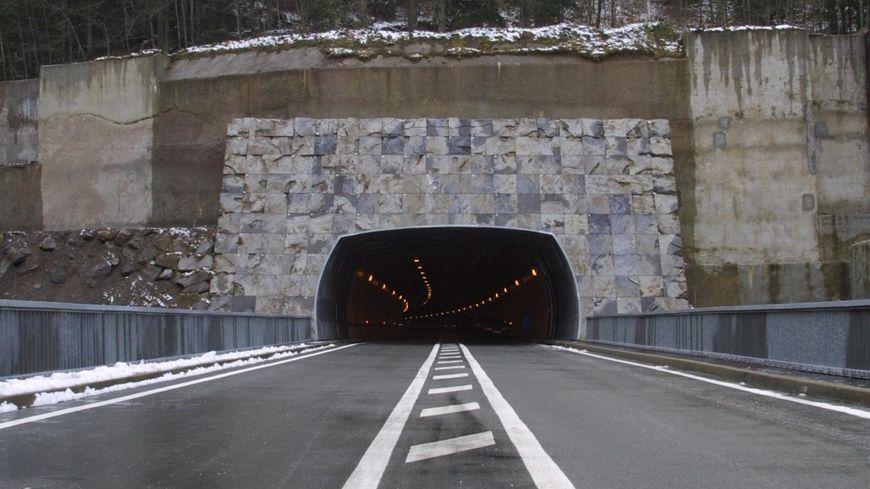 L'entrée du tunnel du Somport où s'est déroulée la reddition du fugitif