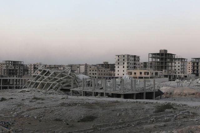 L'armée syrienne a pris des quartiers Est d'Alep, jusque là tenus par les rebelles
