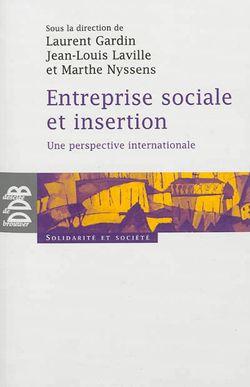 Entreprise sociale et insertion : une perspective internationale