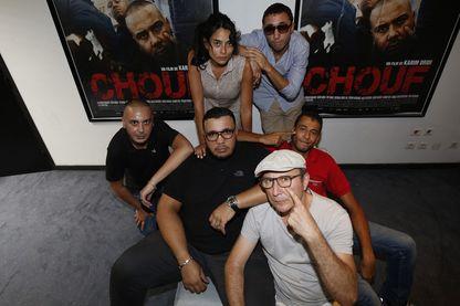 """L'équipe du film """"Chouf"""""""