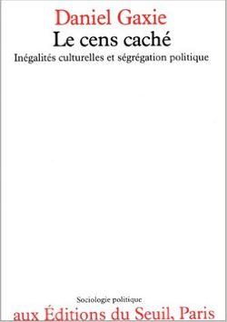Le cens caché, Seuil, 1978