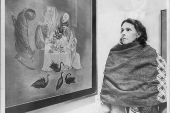 Leonora Carrington en 1975