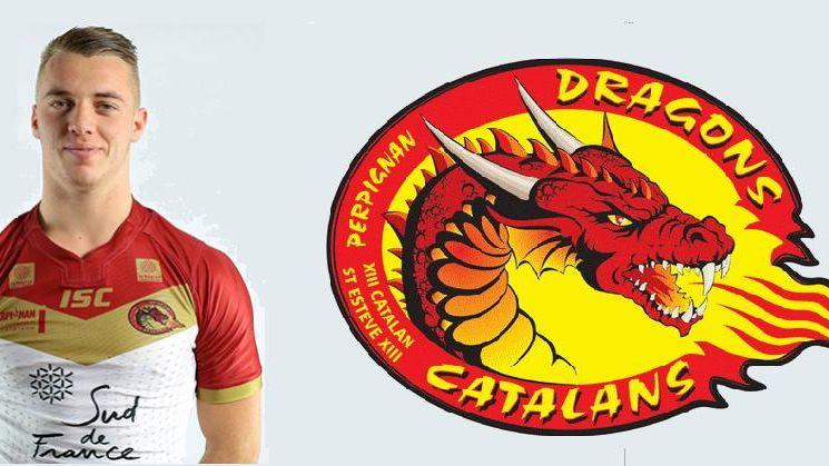Paul Seguier, pilier aux Dragons Catalans
