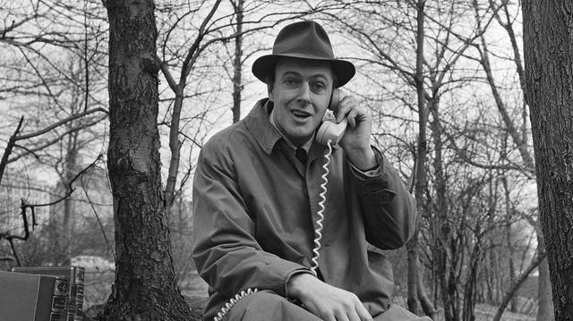 Roald Dahl en 1961 à New-York