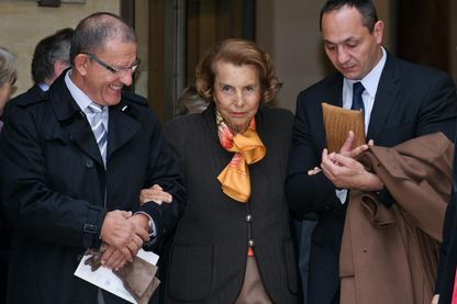 Liliane Bettencourt, 12 octobre 2011