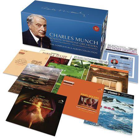 Coffret Charles Munch et le B.S.O chez RCA