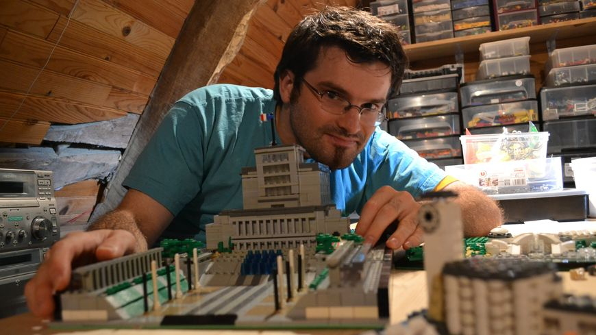 Jean-Sébastien Le Berre, fan de lego