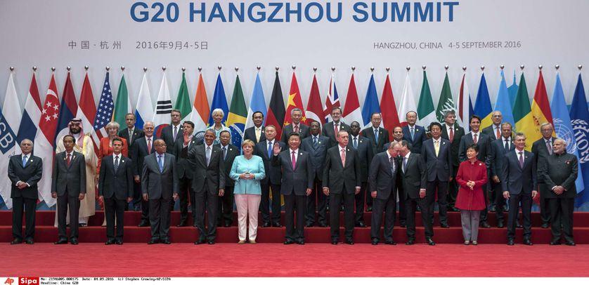 En Chine, le G20 a rassemblé plus de 20 chefs d'Etat