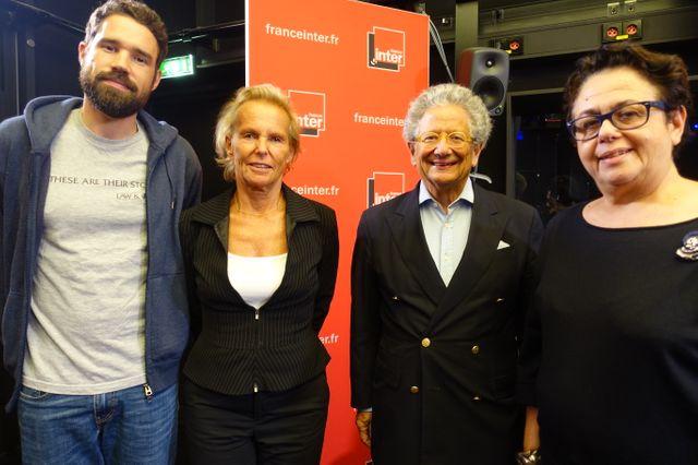 Pierre Langlais, Christine Ockrent, Dominique Moïsi, Carole Desbarats