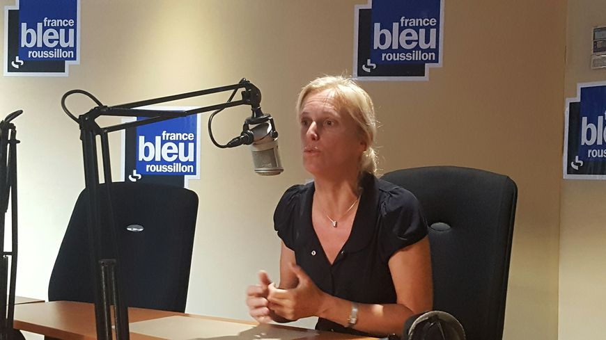 Ségolène Neuville, ce lundi matin sur France Bleu Roussillon