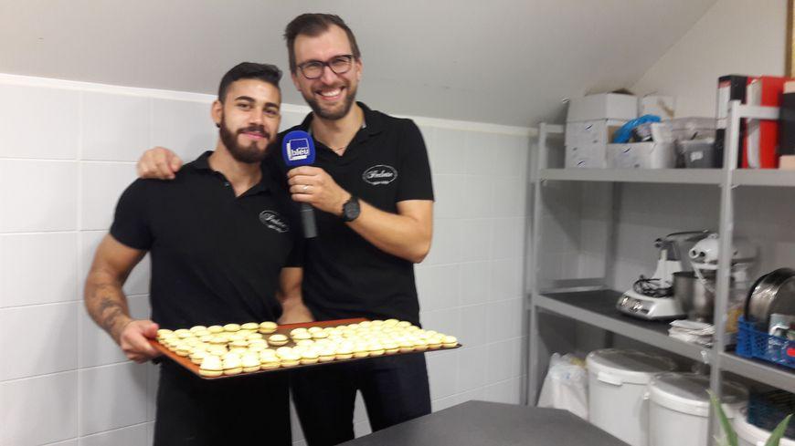 La p tisserie perlette toulouse avec nicolas buche for France bleu orleans cuisine