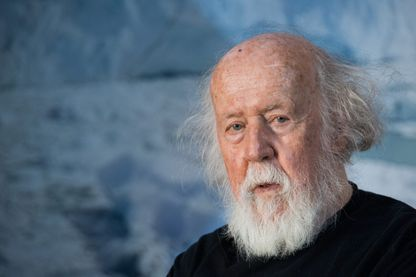 Hubert Reeves à l'inauguration du 13e forum international de la meteo et du climat