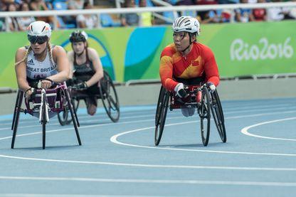Jeux Paralympiques au Stade olympique à Rio de Janeiro le 8 Septembre