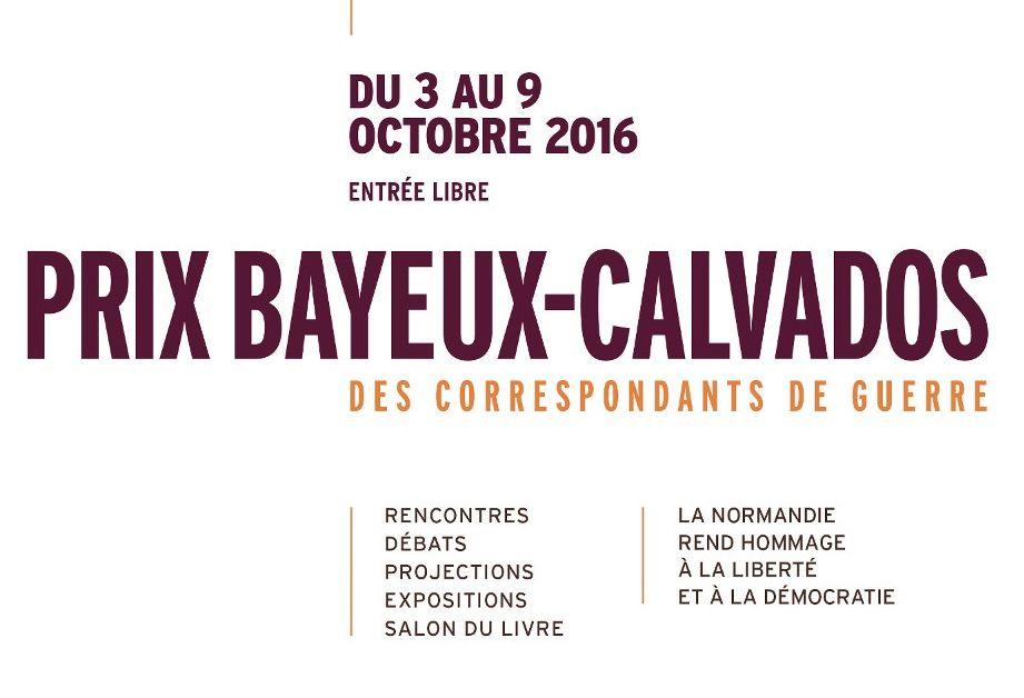 Prix Bayeux-Calvados 2015 des correspondants de guerre : Le palmarès