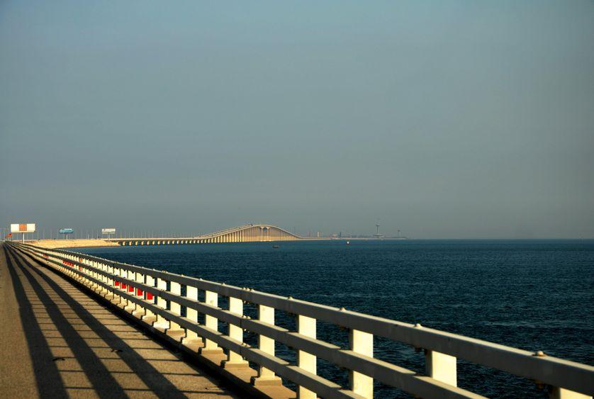 Pont du roi Fahd reliant l'Arabie Saoudite à Bahreïn