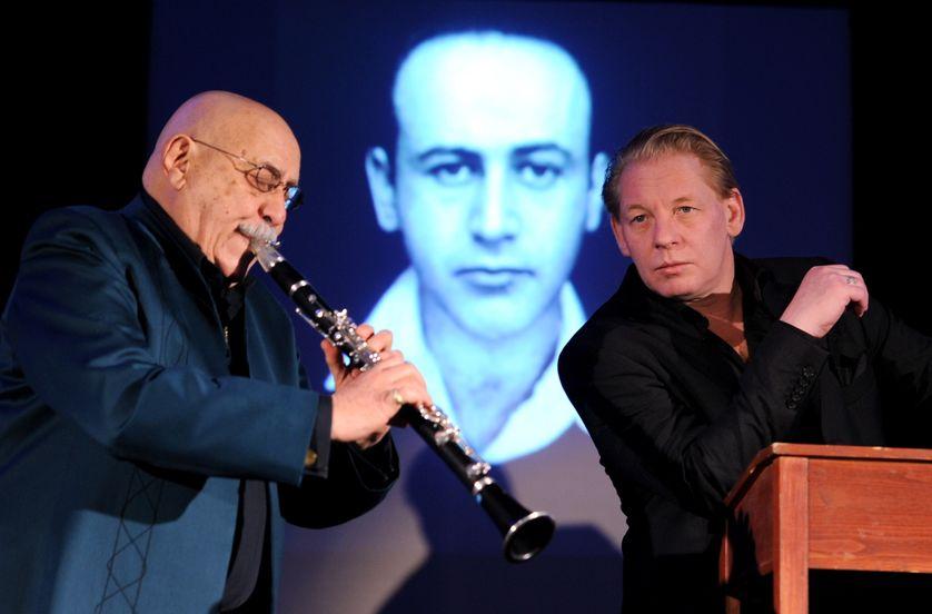 Giora Feidmann, Ben Becker, Hommage à Paul Celan, Gluecksburg, Germany, 2013