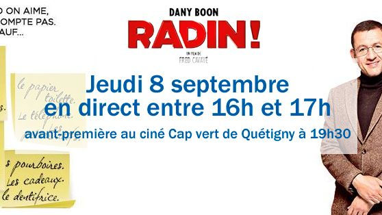 Dany Boon et Fred Cavayé sont les invités de France Bleu Bourgogne