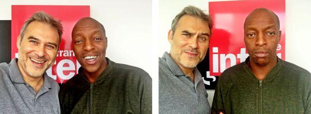 Vincent Cespedes et Oxmo Puccino